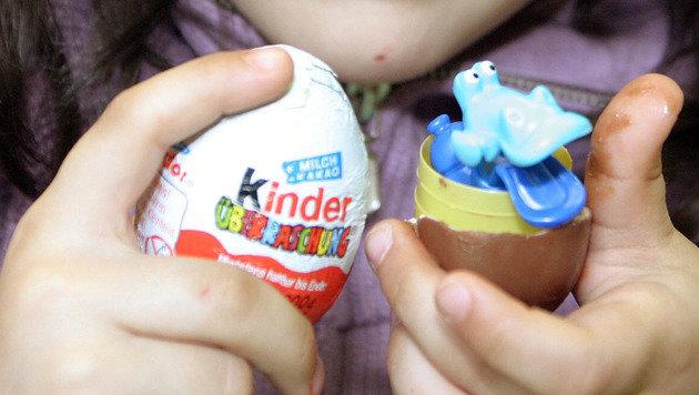 Überraschungsei-Spielzeug von Kindern gefertigt? (Bild: Martin A. Jöchl)