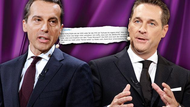 """""""Rot-blaue Koalition wäre für FPÖ Schuss ins Knie"""" (Bild: APA/GEORG HOCHMUTH, thinkstockphotos.de)"""