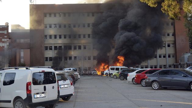 Türkei: Tote und Verletzte nach Explosion in Adana (Bild: ASSOCIATED PRESS)