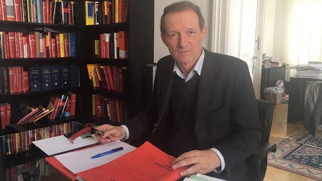Anwalt Dr. Wolfgang Blaschitz (Bild: krone.at)