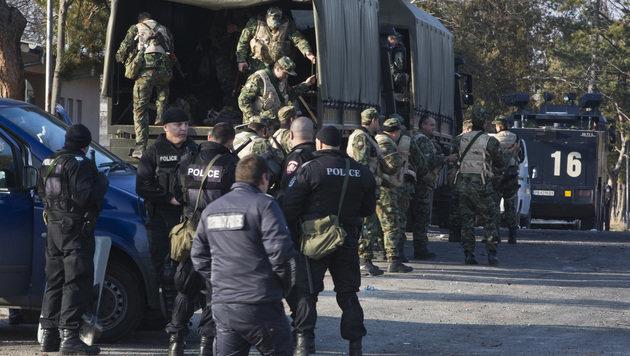 Bulgarien will tausend Flüchtlinge abschieben (Bild: AP)
