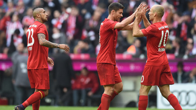 626,8 Mio. Euro! FC Bayern mit Rekordumsatz (Bild: APA/AFP/CHRISTOF STACHE)