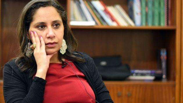 Die ägyptische Frauenrechtlerin Mozn Hassan (Bild: AFP)