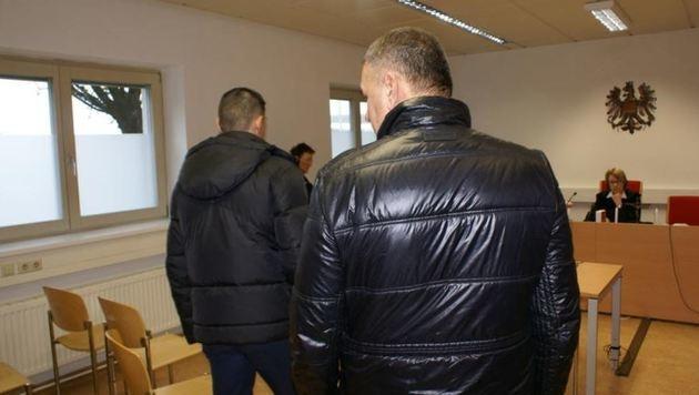 Die Angeklagten Mario M. (39) und sein Onkel Ilija M. (58) sind am Donnerstag verurteilt worden. (Bild: Antonio Lovric)