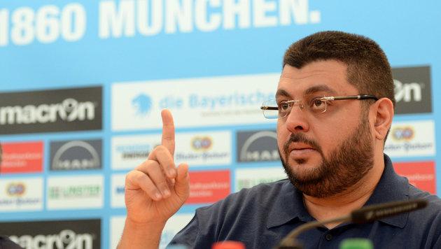 Chaos-Klub 1860 München verkündet Presseboykott (Bild: APA/dpa/Andreas Gebert)