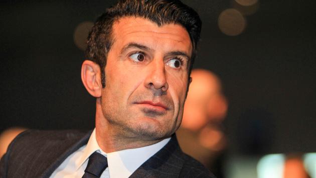 Luis Figo ist um 500.000 Euro ärmer (Bild: GEPA)