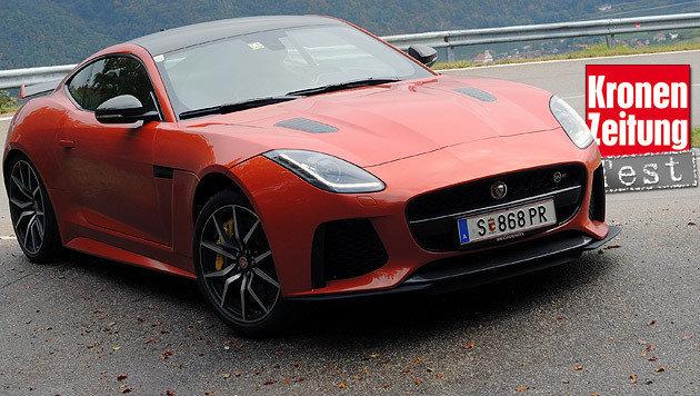 Test Jaguar F-Type SVR: Muskelkatze muss spielen (Bild: Stephan Schätzl)