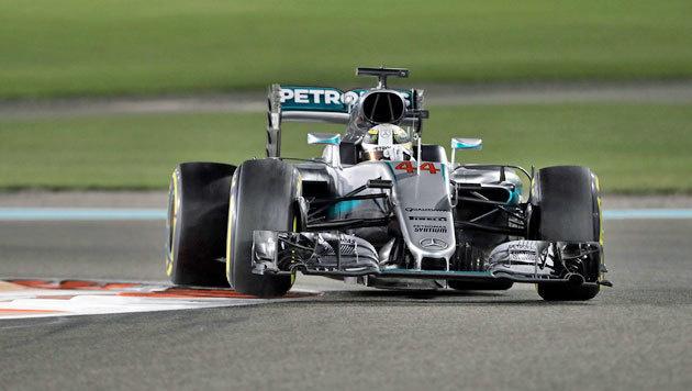 Hamilton schwänzte Weltmeister-Party von Rosberg (Bild: AP)