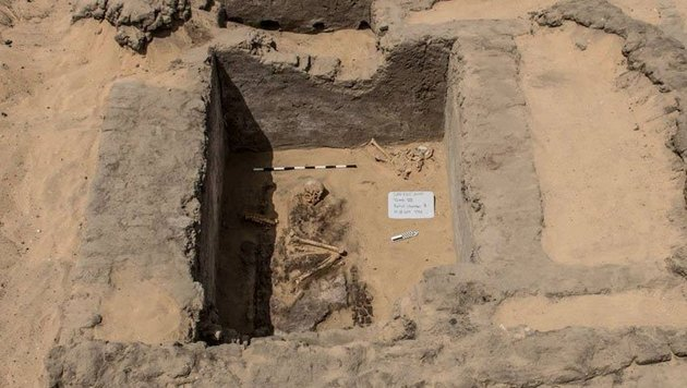 Ruinen von antiker ägyptischer Stadt entdeckt (Bild: Egyptian Ministry of Antiquities)