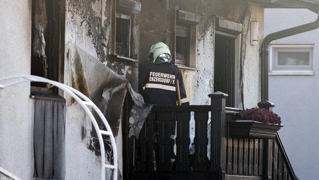 Drei Tote bei Brand in Einfamilienhaus (Bild: APA/GEORG HOCHMUTH)