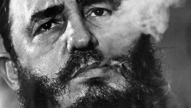 Kubas Ex-Präsident Fidel Castro (90) verstorben (Bild: Associated Press)