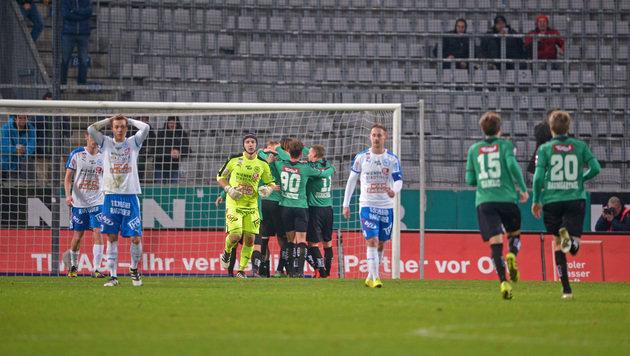 Zu Erste-Liga-Spielen kommen im Schnitt 1.500 Fans (Bild: GEPA)