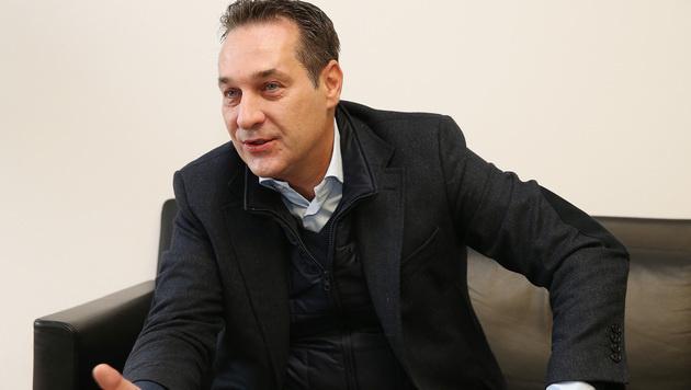 FPÖ-Chef Heinz-Christian Strache (Bild: Zwefo)