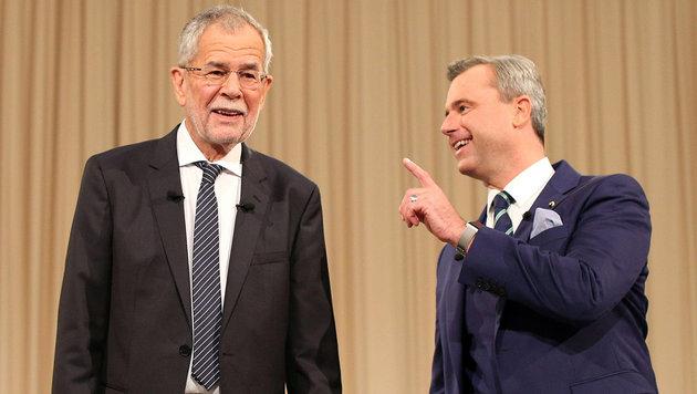 Harter Schlagabtausch um Entlassung der Regierung (Bild: APA/Georg Hochmuth)