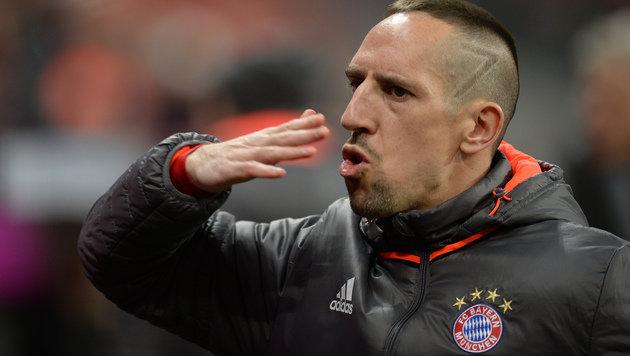 33-jähriger Ribery erhält bei Bayern neuen Vertrag (Bild: AP)
