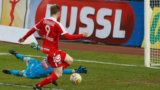 3:0-Triumph! Die Austria lässt WAC alt aussehen (Bild: APA/GERT EGGENBERGER)