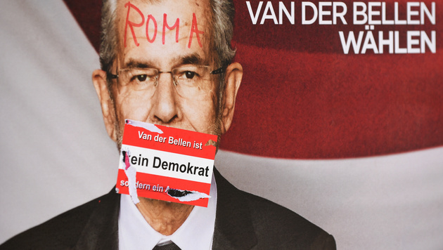 "Hofers Heimatstadt ""von linker Horde heimgesucht"" (Bild: APA/ROLAND SCHLAGER)"