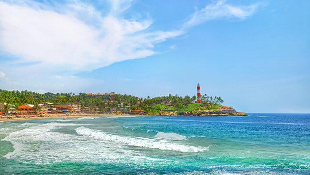 Der Strand von Kovalam im indischen Kerala (Bild: thinkstockphotos.de)