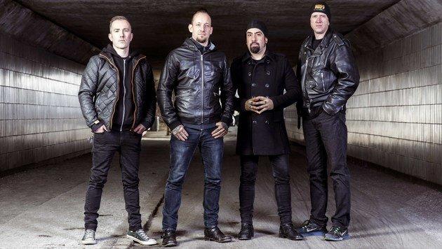 """""""Krone"""" holt Rocker Volbeat exklusiv nach Graz (Bild: Nathan Gallagher)"""
