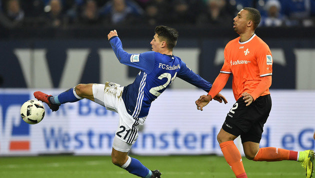 Schöpf trifft bei Schalke-Heimsieg gegen Darmstadt (Bild: AP)