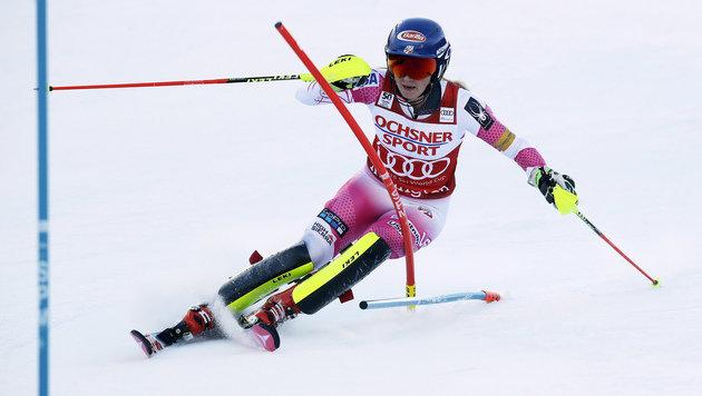 Superstar Mikaela Shiffrin feiert Heimsieg (Bild: AP)