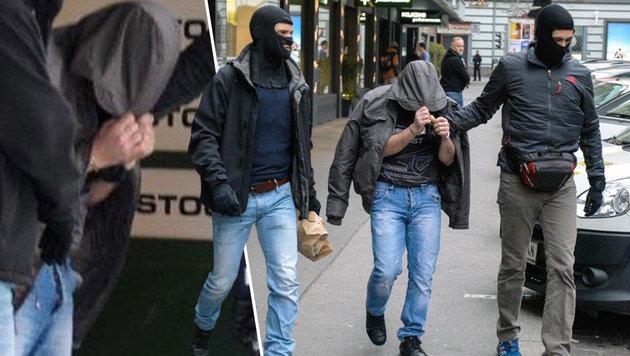 Syrer aus Eifersucht als IS-Terrorist beschuldigt (Bild: zeitungsfoto.at)