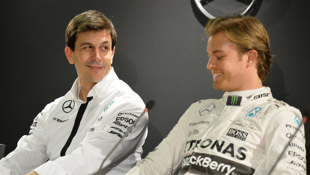 "Toto Wolff lobt Nico Rosbergs ""unbarmherzige Gabe"" (Bild: APA/AFP/THOMAS KIENZLE)"