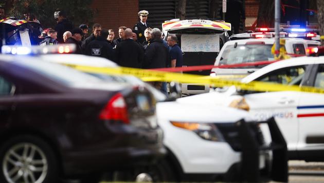 Ohio: Elf Verletzte bei Amoklauf auf Uni-Campus (Bild: AP)