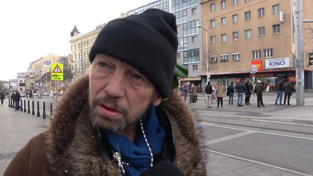 """""""Wenn du keine Freunde hast, dann wird es ganz bitter"""" (Bild: krone.tv)"""
