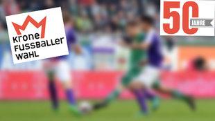 """""""Krone""""-Fußballerwahl: Hier abstimmen! (Bild: APA/HERBERT P. OCZERET)"""