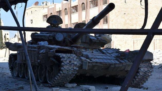 Syrien: Assad-Truppen erobern Nordosten von Aleppo (Bild: AFP)