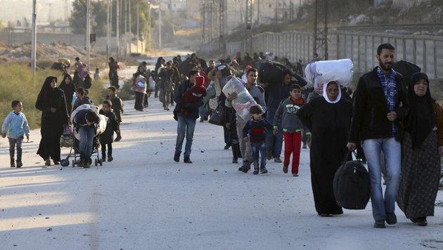 Syrien: Assad-Truppen erobern Nordosten von Aleppo (Bild: AP)