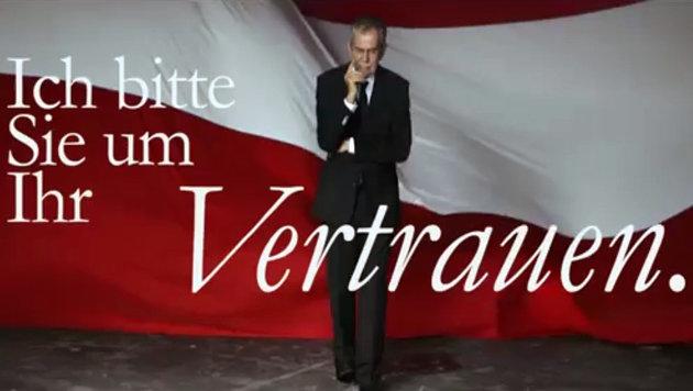 "VdB: Wahlkampffinale mit ""I am from Austria"" (Bild: YouTube.com)"