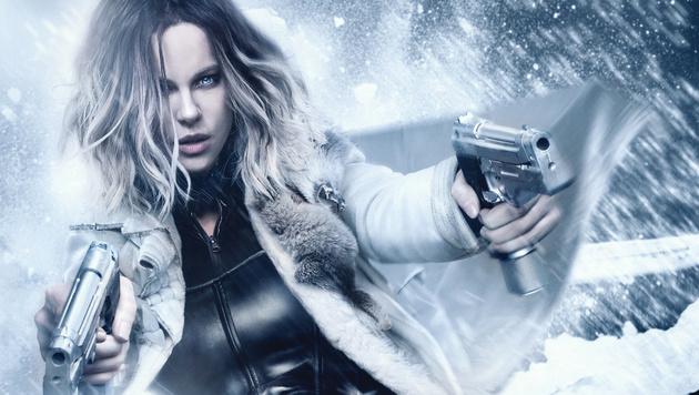 """""""Underworld - Blood Wars"""": Beckinsale beim Kampf Vampire gegen Werwölfe (Bild: 2016 Sony Pictures Releasing GmbH)"""