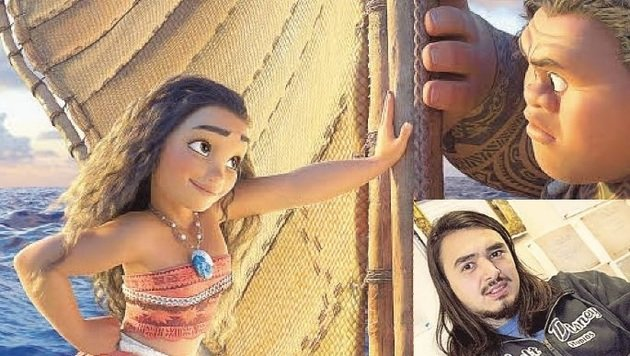 Der Disney-Film Vaiana läuft ab 23.12. in den Kinos - Urstein-Absolvent Yafes Sahin half mit. (Bild: Disney, FH Salzburg/Laubichler)
