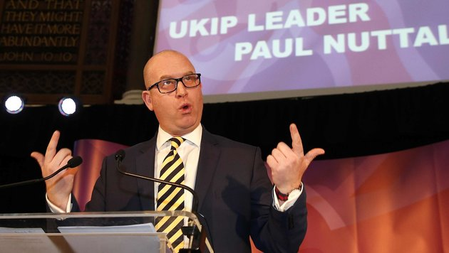 Der neue UKIP-Chef Paul Nuttall (Bild: Associated Press)