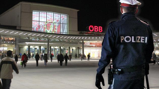 Massenprügelei am Grazer Bahnhof: Drei Verletzte (Bild: Jürgen Radspieler, Reinhard Holl)