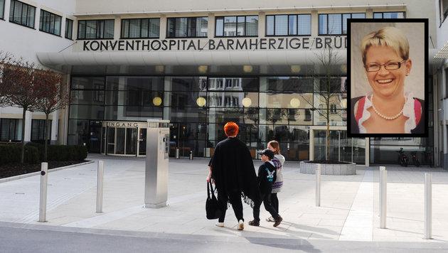 """Sabine W. wurde von den Ärzten der Barmherzigen Brüder in Linz nach Hause geschickt - wo sie starb! (Bild: Hannes Markovsky, """"Krone"""")"""
