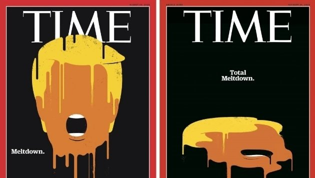 "Das ""Time""-Magazin mit Trump-Cover (Bild: Time)"