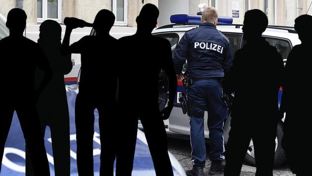 Wütender Mob attackiert Sanitäter bei Einsatz (Bild: thinkstockphotos.de, APA, krone.at-Grafik (Symbolbild))