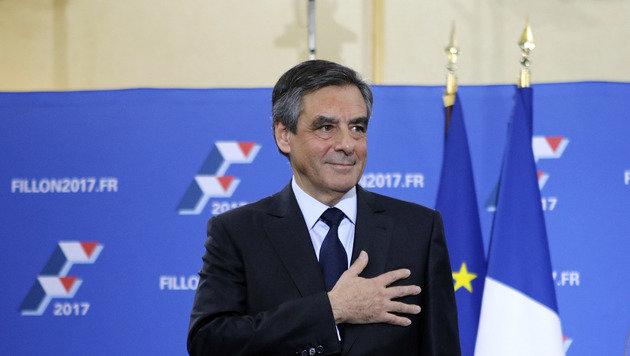 Francois Fillon überzeugte das konservative Lager und wird 2017 wohl gegen Marine Le Pen antreten. (Bild: ASSOCIATED PRESS)