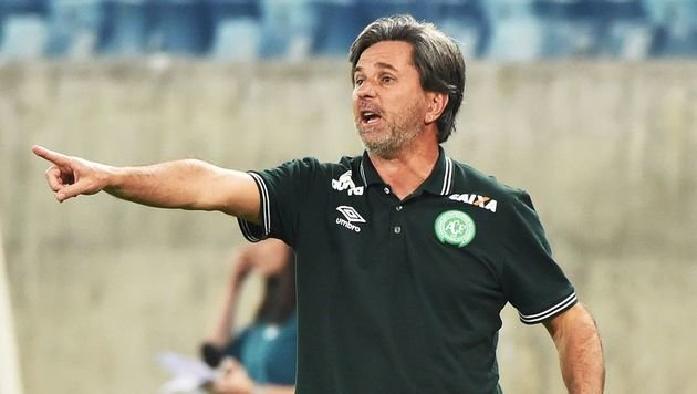 Chapecoense-Trainer Caio Junior (Bild: AFP)