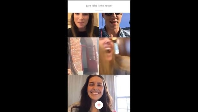 """Houseparty killt Snapchat und Instagram (Bild: House Party)"""