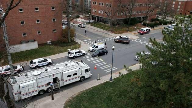 Ohio: Terrorangriff an Uni wie Amokfahrt von Graz! (Bild: AP)