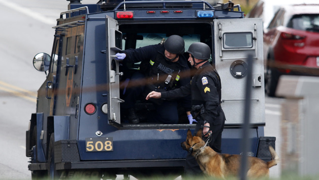 Ohio: Terrorangriff an Uni wie Amokfahrt von Graz! (Bild: APA/AFP/PAUL VERNON)
