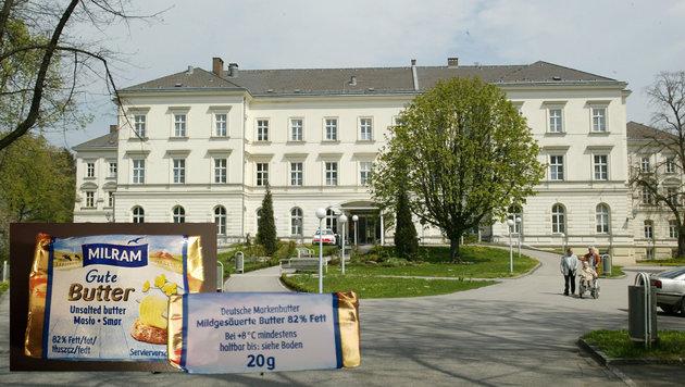In den Linzer Seniorenzentren - am Bild das Heim Spallerhof - wird Butter aus Deutschland serviert. (Bild: Chris Koller)