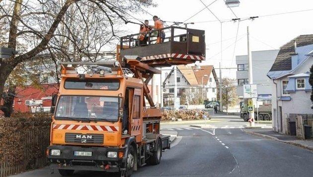 Soll das Obus-Netz schon bald über die Stadtgrenzen hinaus verlängert werden? (Bild: Markus Tschepp)