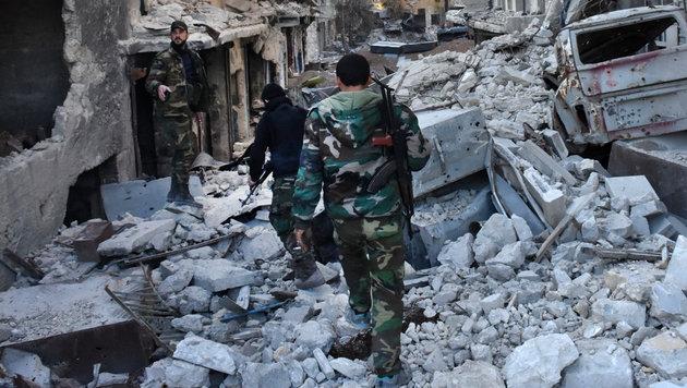 """Russland: In Aleppo tobt """"Entscheidungsschlacht"""" (Bild: AFP)"""