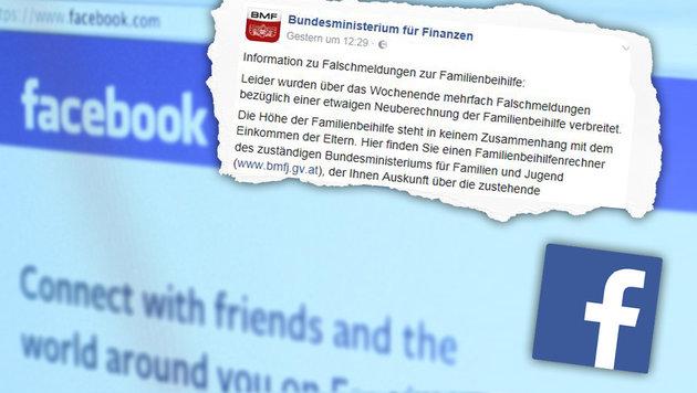 Türkischer Ansturm auf Finanzamt nach Fake-Posting (Bild: BMF, facebook.com)