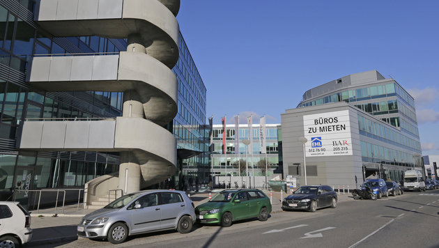In diese Büros wird ab April 2017 das neue Sozialzentrum einziehen. (Bild: Klemens Groh)